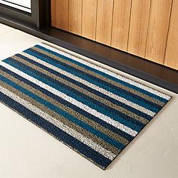 chilewich ® stripe doormat
