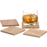 chop coasters set of four