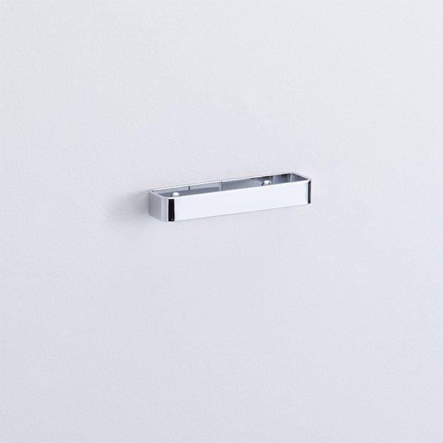 chrome drawer pull