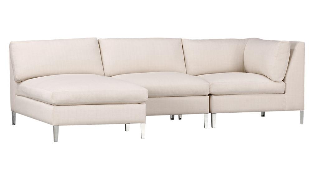 cielo ivory corner chair