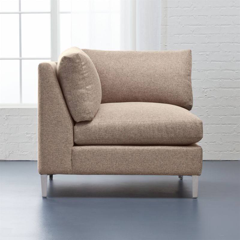 cielo ii corner chair bedroom furniture cb2 peg