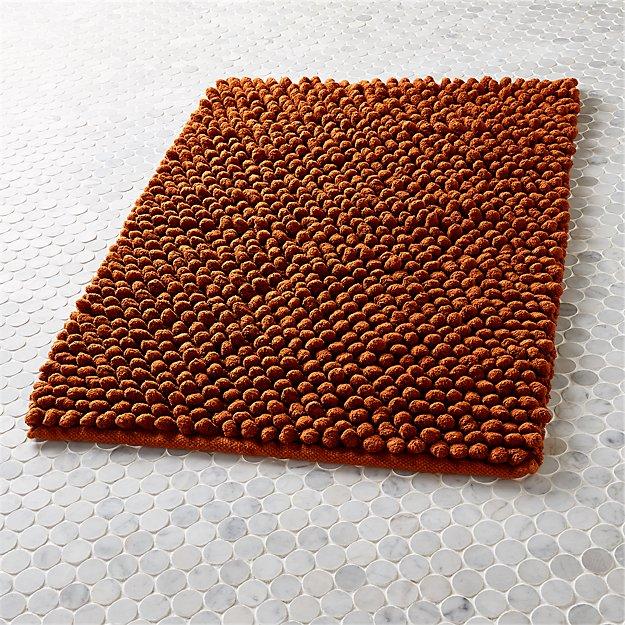 cirrus copper bath mat
