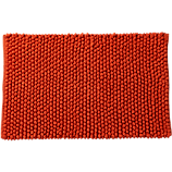 cirrus orange bath mat