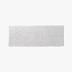 cirrus white bath runner