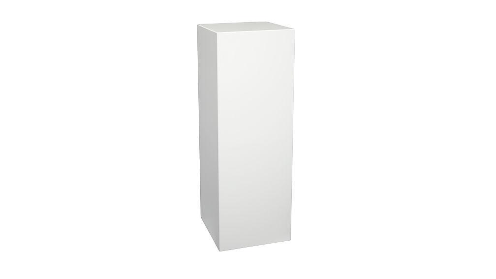city slicker tall pedestal table