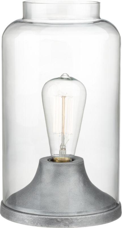cloche table lamp