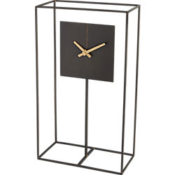 clock tower mantel table clock