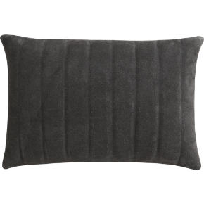 clutch dark brown 18x12 pillow