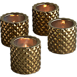 colada tea light candle holders set of four