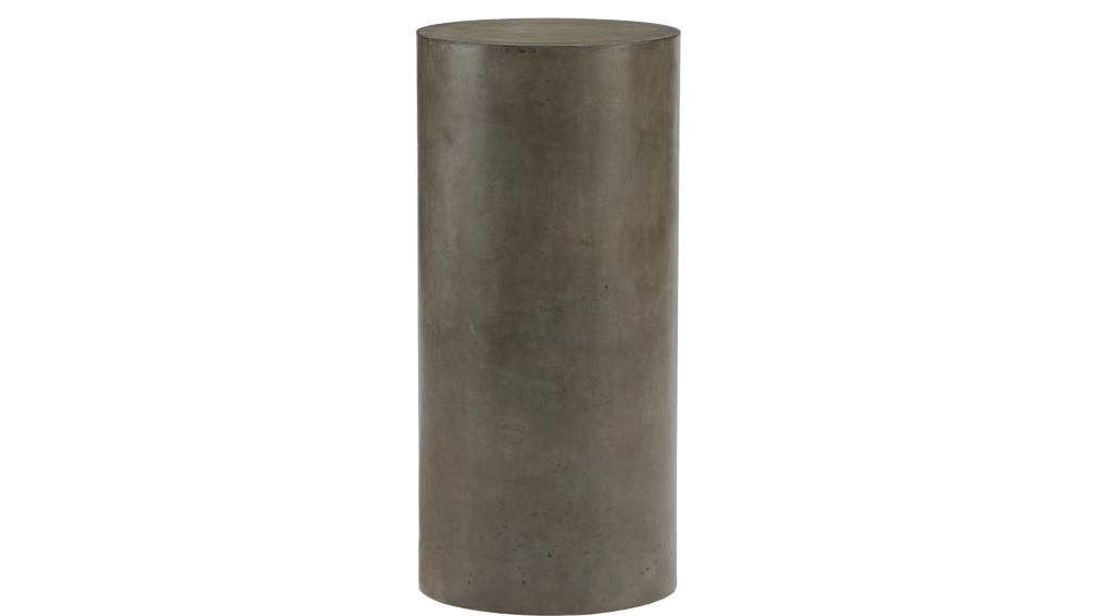 column large grey pedestal