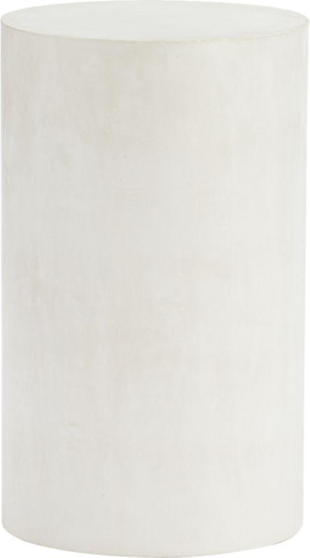 column ivory pedestal