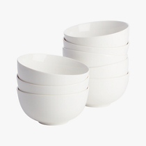 contact white bowls set of eight