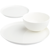contact white dinnerware