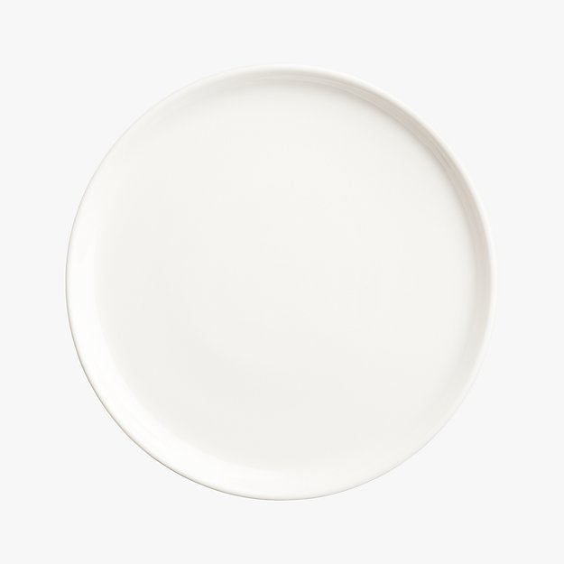 contact white salad plate
