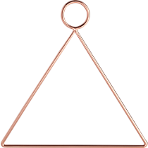 copper accessory-towel holder