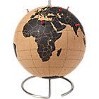cork globe.