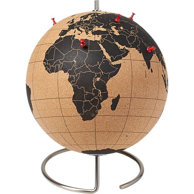 cork globe