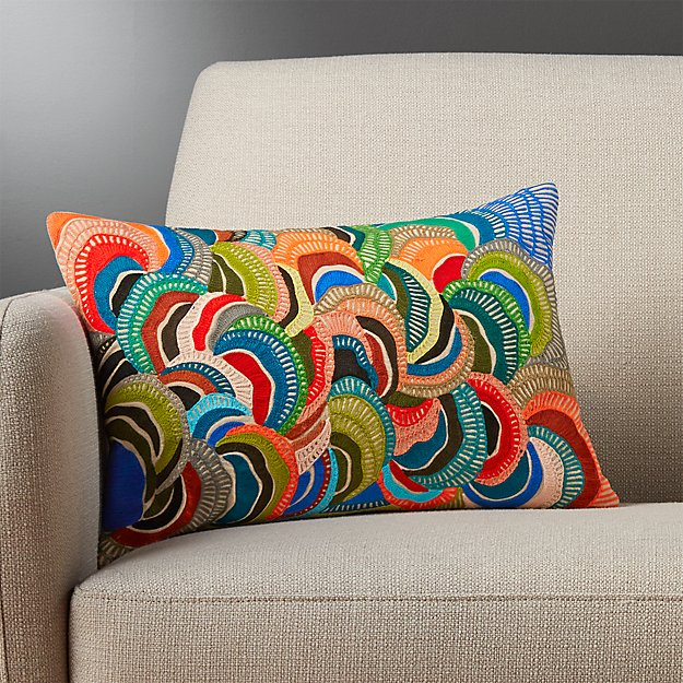 "cosmo 18""x12"" pillow"