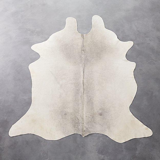 cowhide grey rug 5'x8'