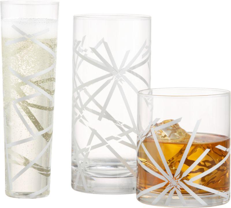 Crackle Glasses - CB2