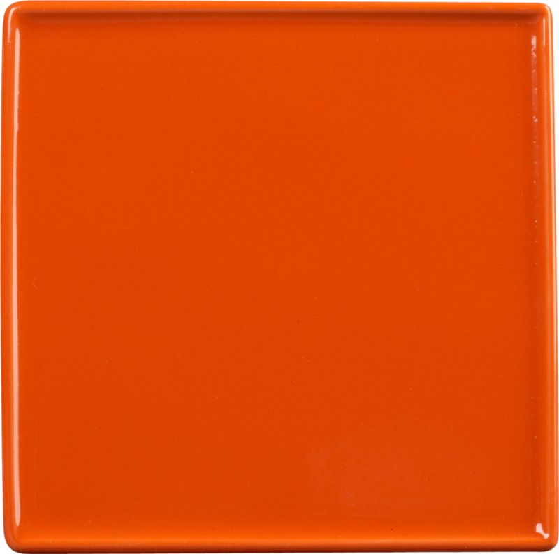 crewcut square pepperhot appetizer plate