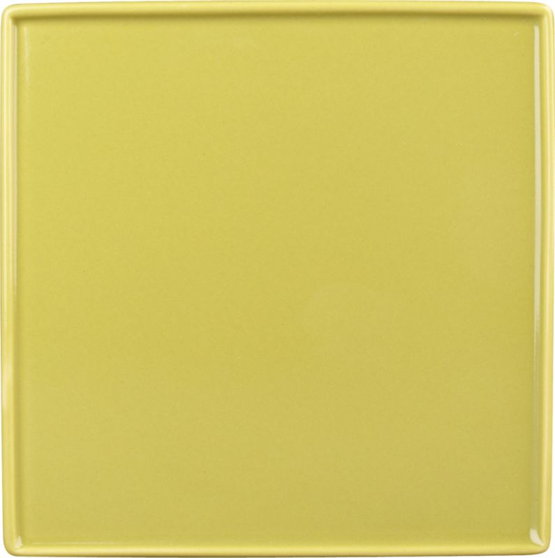 crewcut square sprout appetizer plate