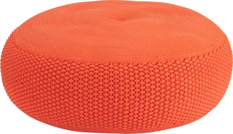 criss knit orange pod