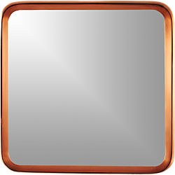 "croft copper 16"" wall mirror"