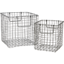 crosshatch baskets