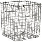 crosshatch small basket.
