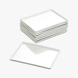 cuatro small platters set of eight