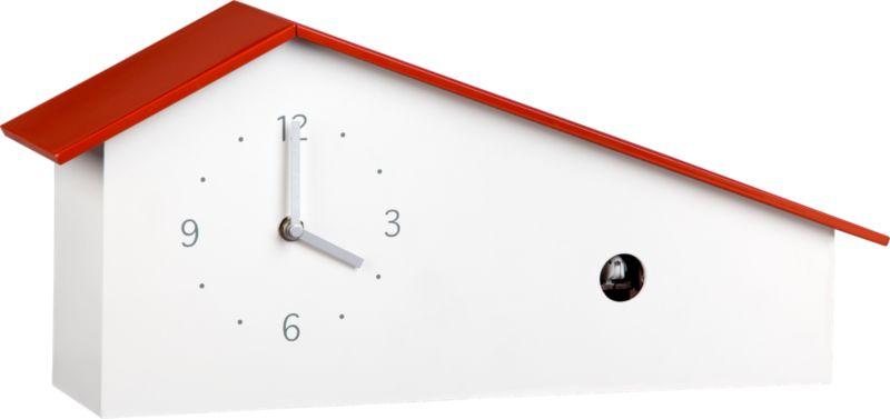 """cuckoo 17.5""""x8"""" clock"""