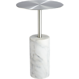 cuff link marble side table
