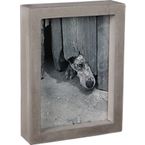 curb picture frame
