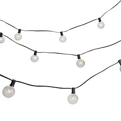 cut glass string lights