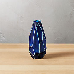 dawson blue vase