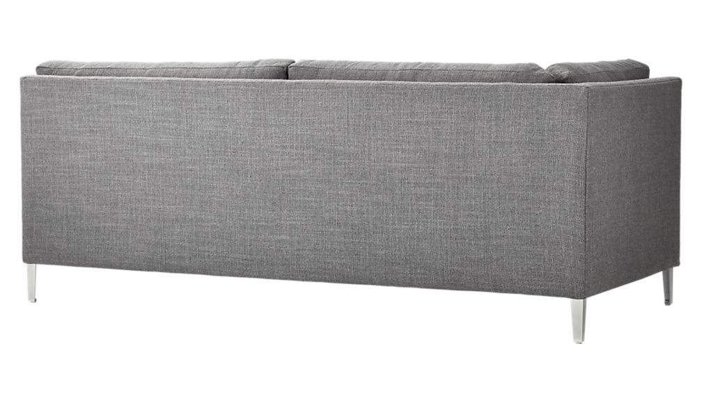 decker left arm sofa