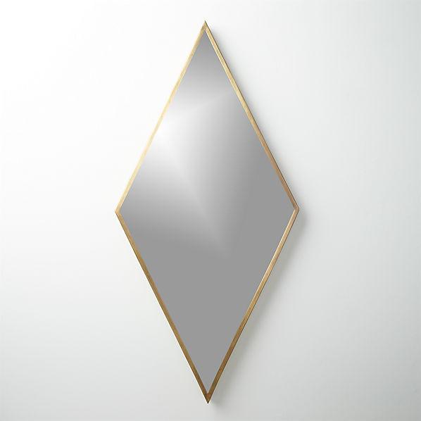 DiamondMirrorBrassF16