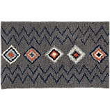 diamond shag rug 5'x8'