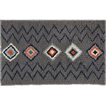 diamond shag rug