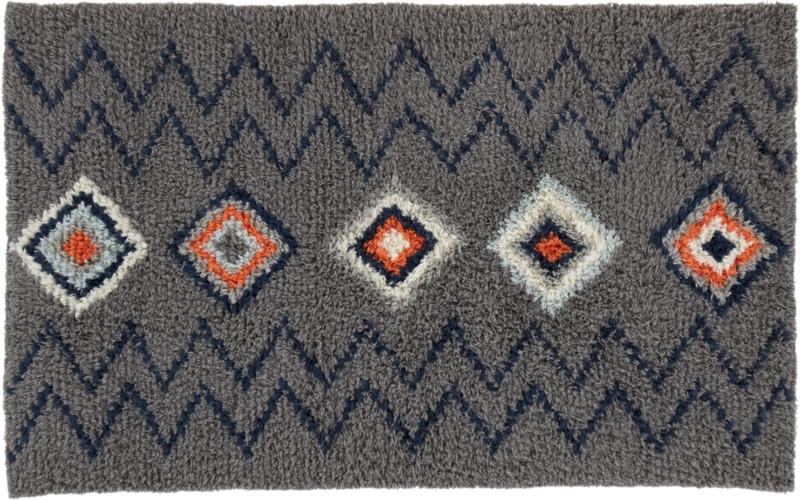 diamond shag rug 5x8