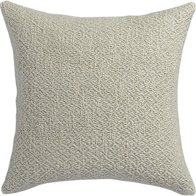 "diamond weave natural 18"" pillow"