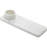 2-piece marble dip server