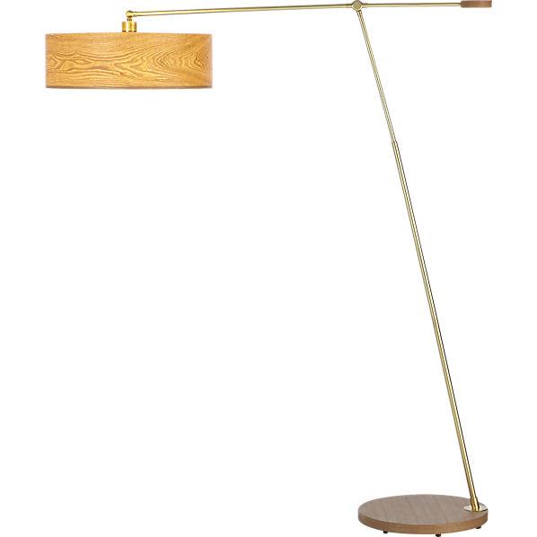 disc floor lamp cb2 With cb2 disc floor lamp