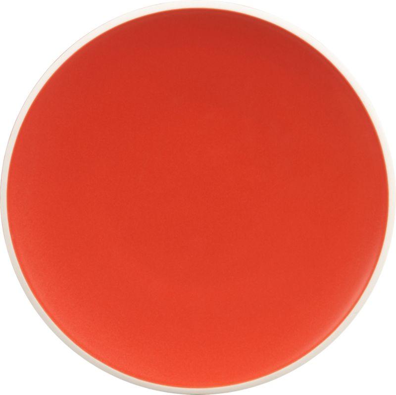disc salad plate