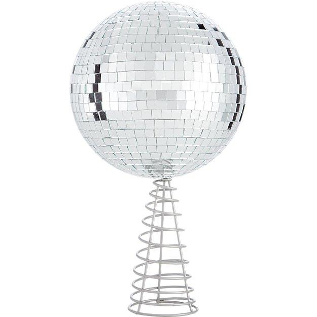 disco ball tree topper