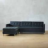 ditto II shadow sectional sofa