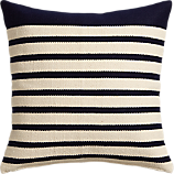 "division navy 20"" pillow"