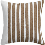 "division white/natural 20"" pillow"