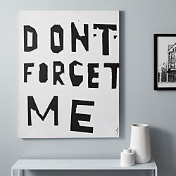 don't forget me print